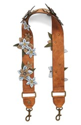 Elle And Jae Gypset Guitar Bag Strap Brown Cognac