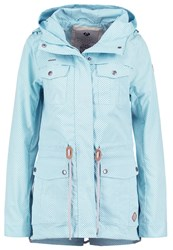 Ragwear Laika Parka Aqua Light Blue