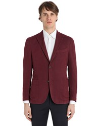 Boglioli Cotton Linen Silk Structured K Jacket