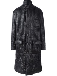 Maison Martin Margiela Padded Long Coat Black