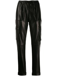 Tom Ford Tapered Cargo Trousers Black