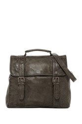 Cut N' Paste Ashford Convertible Leather Backpack Gray
