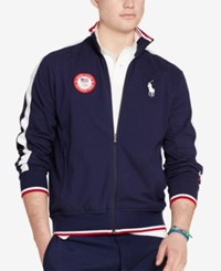Polo Ralph Lauren Team Usa Track Jacket French Navy
