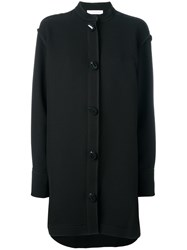 J.W.Anderson Oversized Buttons Shirt Dress Black