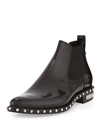 Givenchy Studded Leather Chelsea Boot Black