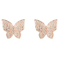 Latelita London Rosegold Butterfly Earring Rose Gold