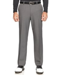 Greg Norman For Tasso Elba Men's Big And Tall Heathered Golf Pants Only At Macy's Grey Heather