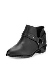 Kelsi Dagger Vermont Leather Harness Bootie Black