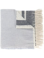Forte Forte Woven Stripe Scarf Nude And Neutrals