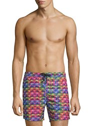 Bertigo Printed Swim Shorts Multi