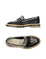 Grey Mer Footwear Moccasins Women Black