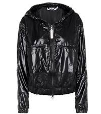 Adidas By Stella Mccartney Hooded Training Jacket Black