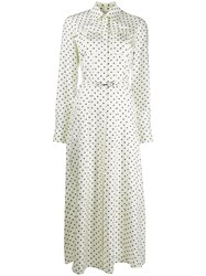 Gabriela Hearst Polka Dot Shirt Dress 60