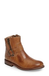 Bed Stu Women's Becca Buckle Boot Tan Rustic Leather