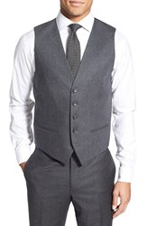 Men's Nordstrom Herringbone Wool Vest