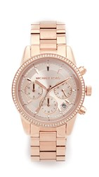 Michael Kors Ritz Watch Rose Gold