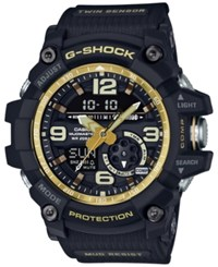 G Shock Men's Analog Digital Mudmaster Vintage Gold Black Resin Strap Watch 55X56mm Gg1000gb 1A