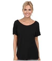 Lole Concord Top Black Women's Short Sleeve Pullover