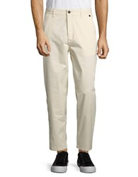 Selected Cotton Trousers Winter White