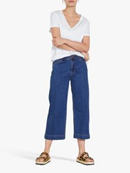 Hush Moritz Cropped Jeans Blue Authentic