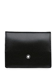 Montblanc Meisterstuck Leather Coin Case Black