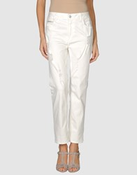 Rockstar Denim Denim Trousers Women White