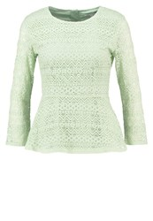 Mintandberry Blouse Laurel Green Light Green