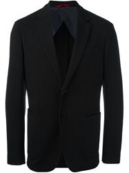 Fay Patch Pocket Blazer Black