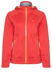 Salomon Veyrier Stretch Soft Shell Jacket Nectarine Oliv