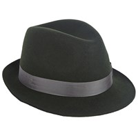 Christys' Henley Trilby Hat Green