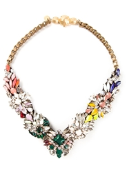 Shourouk 'Fox Jumble' Necklace Multicolour