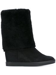 Fratelli Rossetti Wedge Boots Black