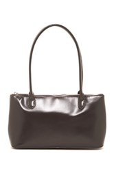 Hobo Lola Leather Handbag Gray