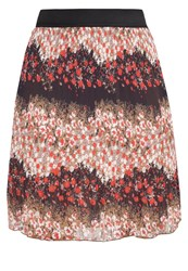 Anna Field Aline Skirt Black Tan