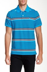 Timberland Striped Polo Blue