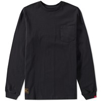 Wtaps Long Sleeve Blank Tee Black