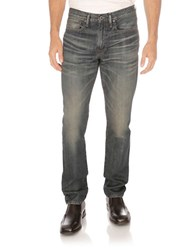 Lucky Brand 121 Heritage Slim Triumph Rolling Hills Wash Jeans Blue