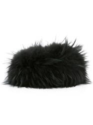Mr And Mrs Italy Fur Hat Green