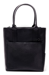 Dagne Dover Charlie Leather Tote Black Onyx