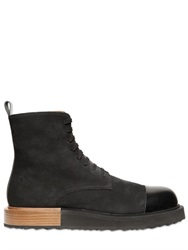 Mobi Suede Leather Laced Boots