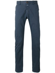 Closed Classic Trousers Blue