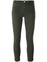 J Brand Cropped Jeans Green