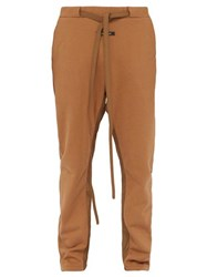 Fear Of God Relaxed Cotton Track Pants Camel