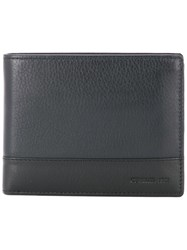 Cerruti 1881 Two Tone Foldover Wallet Black