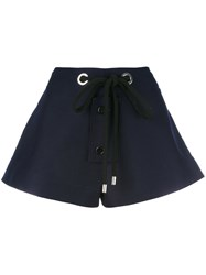 Marni Drawstring Shorts Blue