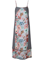 I'm Isola Marras Spaghetti Strap Floral Print Dress Multicolour