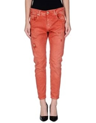 Two Women In The World Denim Pants Rust