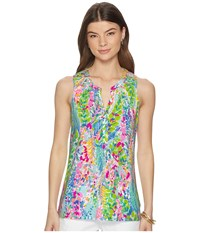 Lilly Pulitzer Essie Top Multi Catch The Wave Clothing