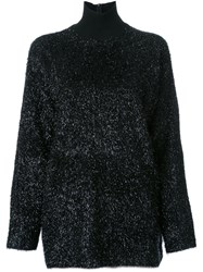 Martin Grant Turtle Neck Jumper Black