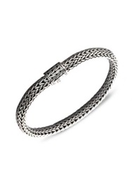 John Hardy Classic Chain Sterling Silver Small Bracelet No Color